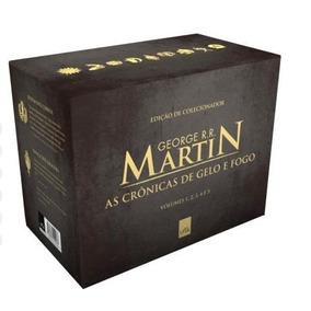 Box Game Of Thrones 5 Livros Guerra Dos Tronos Novo Lacrado