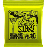 Encordoamento Ernie Ball 7 Cordas Regular Slinky 010-56