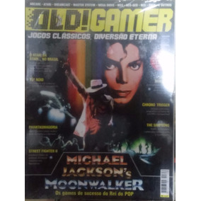 Revista Old Gamer Nº 1 Michael Jackson Moonwalker + Pôster