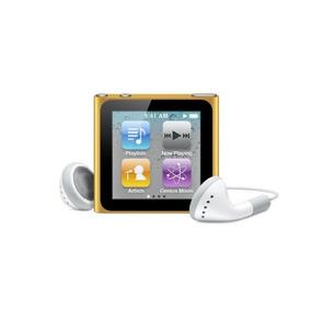 Apple Ipod Nano 8 Gb Naranja (6ª Generación) (descatalogado