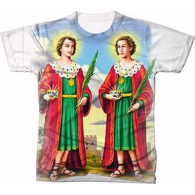 Camisa Camiseta Personalizada Cosme Damião Católica Igreja