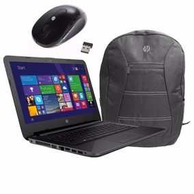 Notebook Hp 240 G4 I3 5005u 4gb 500gb +bolsa Hp+mouse+nfe