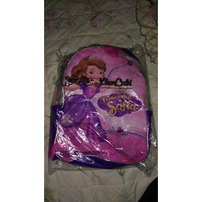 Mochila Y Lonchera Huggies De Niña 2 Vistas Princesas 2017