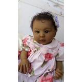 Linda Bebê Reborn Negra + Naninha