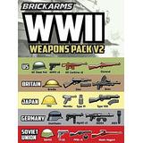 Brickarms La Segunda Guerra Mundial Batería V2 2018 Nuevo!