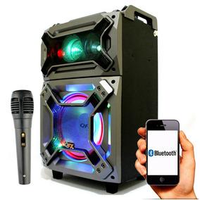 Caixa De Som Amplificada Qfx Recarregável - 3200w À Vista