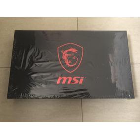 Notebook Gamer Msi Gs63vrstealthi7-7700hq+gtx1060+32gb