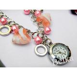 Reloj Pulsera Perlas Dijes !! Por Menor!!