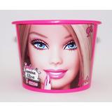 30 Balde Baldinhos Personalizados Barbie 1,5 L