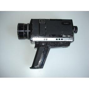 Antiga Filmadora 672 Autozoom Chinon Super 8 - Quebrada Ret