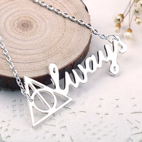 Colgante Importado | Harry Potter | Always | Reliquias