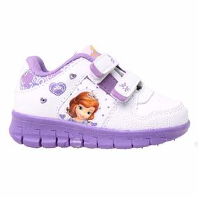 Zapatillas Disney Princesita Sofia Luces Addnice Mundomanias