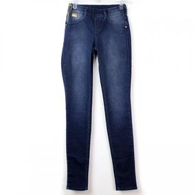 Calça Jeans Feminina Ana Hickmann Slim Leg Low Ah1023
