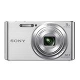 Cámara De Fotos Sony W830 20,1 Mpx, Zoom Óptico 8x, Puntoluz