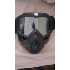 Mascara Motocicleta Mask Shark Casco 3/4 Gogles Buen Fin