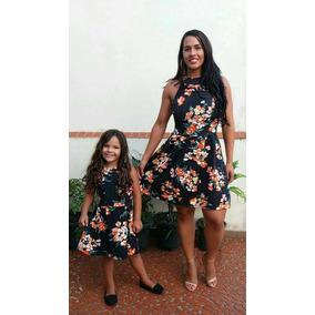 Vestido Tal Mãe Tal Filha - Estampado Floral