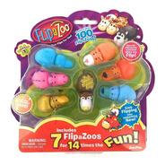 Flipazoo Mini Set X 7 Unidades + 100 Modelos P/ Coleccionar