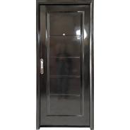 Puerta Doble Chapa 80x200 Manijon Cromado Terra Alfa Metal