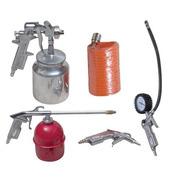 Kit Ar Comprimido Para Compressor 5 Peças Para Pintura