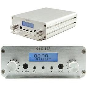 Czh Cze-15a 3w/15w Fm Estéreo, Pll Transmissão De Antena D