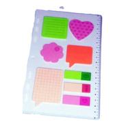 Refil Planner Organizador -régua Stick Notes