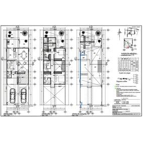 Levantamientos Proyecto Arquitectonico Planos Autocad Diseño