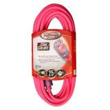 Coleman Cable A 25 Pies Cable De Extensión De Neón 12/3 Al