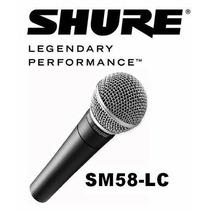 Microfone Shure Sm58 Sm 58lc Made In Mexico