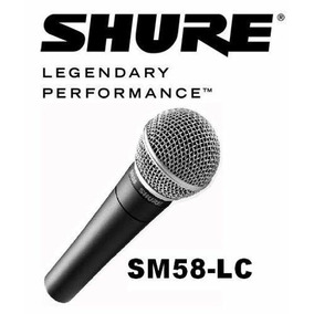 Microfone Shure Sm58 Sm 58lc Made In Mexico