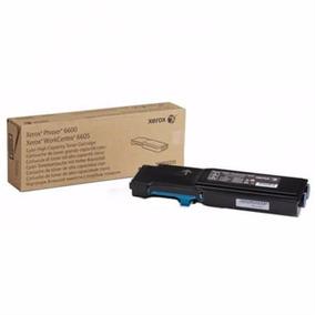 Toner Xerox Cyan Para Wc6605 / Ph6600
