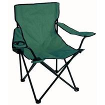 Silla De Camping/ Playera Con Bolso, Silla Camping