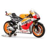 Moto Repsol Honda Rc213v,14 Tamiya Escala 1/12