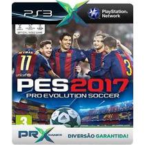 Pro Evolution Soccer 2017 Pes 17 Ps3 Codigo Psn Dublado