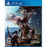 ..:: Monster Hunter World ::.. Para Playstation 4