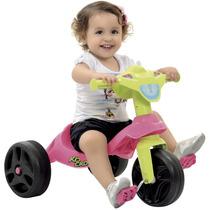 Motoca-triciclo Infantil Bandeirante Kid Cross Rosa
