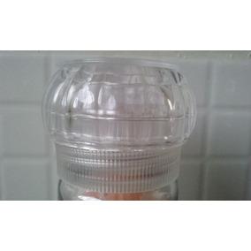 Moedor Reutilizável De Vidro Com Sal Rosa Do Himalaia
