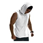 Musculosa Gym Con Capucha Tira Reflectiva Envíos Art 7100