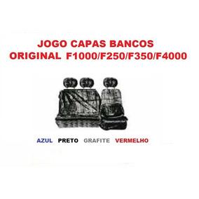 Capa Chinil Bancos Orig+painel C/espuma Ford F250/f350/f4000