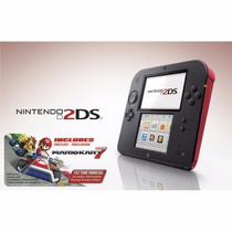 Game Nintendo 2ds Wi-fi Console Portátil + Jogo Hot Wheels
