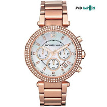 Reloj Michael Kors Mk5491 Gold Rose - 100% Nuevo Y Original