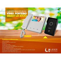 Porteiro, Interfone Com Camera Residencial Tela 4.3 Touch
