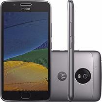 Celular Moto G5 Android 7.0 Tela 5 32gb Platinum +chip Tim