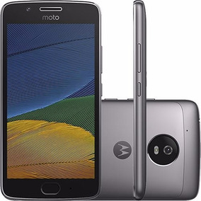Celular Moto G5 Android 7.0 Tela 5 32gb Platinum +chip Tim