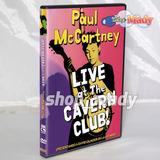 Paul Mccartney Live At The Cavern Club! Dvd Región 4