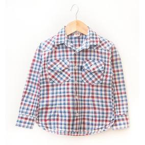 Camisa Escosesa Para Niños