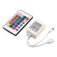 Controladora Rgb Control Remoto 12v P Led 5050 3528 24teclas