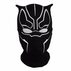 Mascara Pantera Negra Cosplay Fantasia Black Panther Marvel