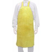 Delantal Descarne Amarillo 1 Pieza 60x90 Cm