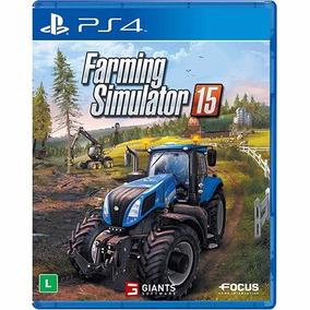 Jogo Farming Simulator 15 Ps4 Mídia Física Simulador Fazenda
