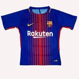Camiseta Time Barcelona Listrada Tardicional Nova Masculina
